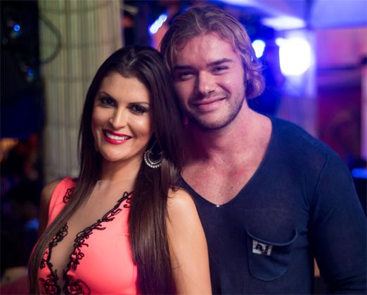Lunara Campos e Thor Batista