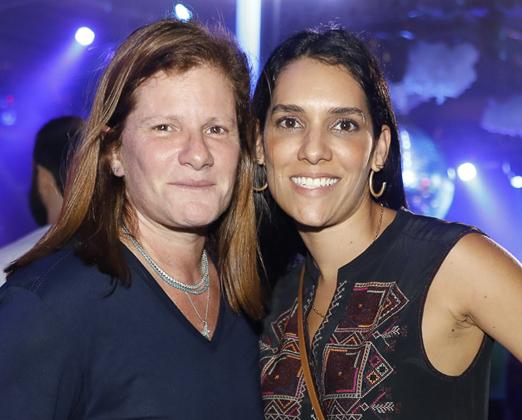 Maria Geyer e Tais Araújo