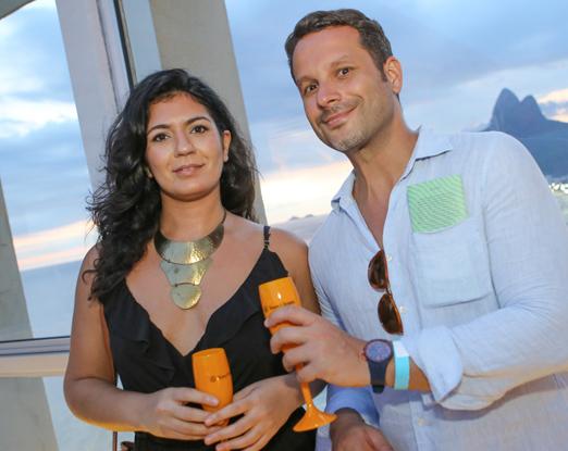 Natasha Maasri e Mauro Frota