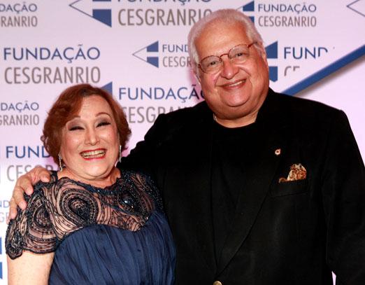 Nicette Bruno e Carlos Alberto Serpa
