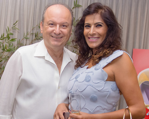 Ovadia Saadia e Cleo Farias