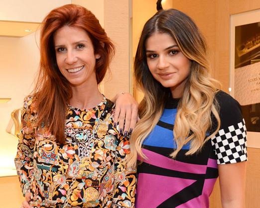 Patricia Romano e Thassia Naves