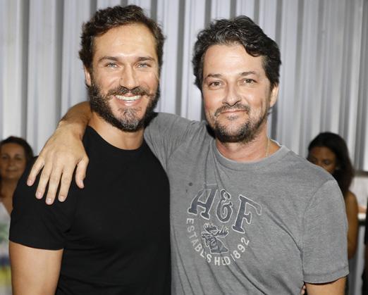 Paulo Rocha e Marcelo Serrado