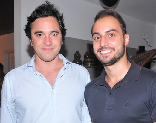 Raphael Vidigal e Henry Chiaradia