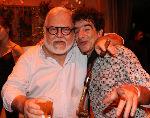 Ricardo Amaral e George Israel