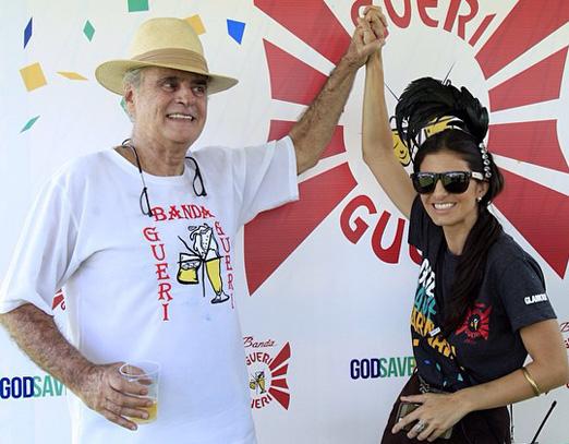 Roberto Suplicy e a filha Fernanda Suplicy