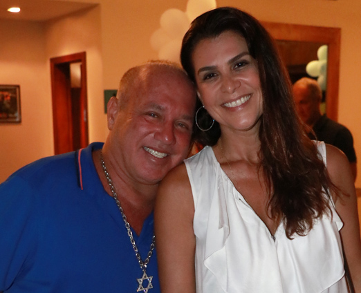 Sergio Mizrahy e Ana Paula Padua