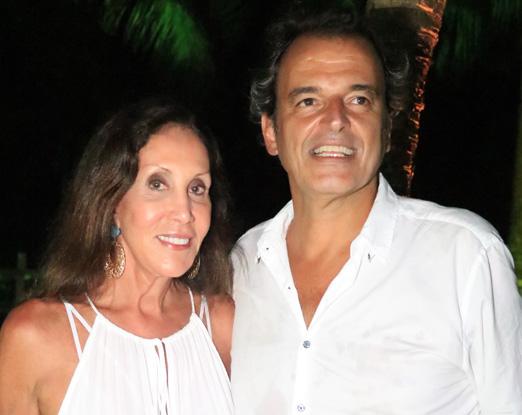 Vera Diniz e Fernando Droghetti