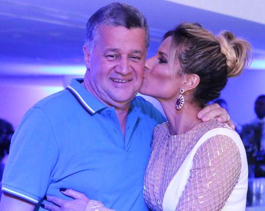 Waltinho Guimarães e Ana Paula Barbosa
