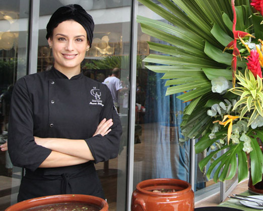 A chef Heaven Delhaye