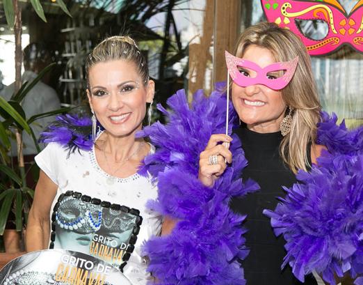 Adriana Alves e Adriana Indelli