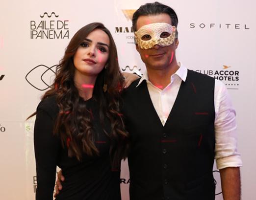 Aline Fernandez e Marcos Pasquim