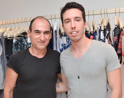 Amir Slama e Felipe Grohman
