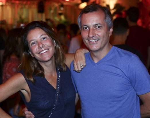 Aninha Gonzalez e Beto Gonçalves