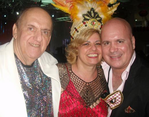 Belino Mello, Estrella Assayag e Eder Meneghine