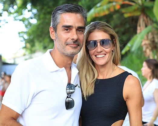 Bruno Bernardes e Cristina Ferreira