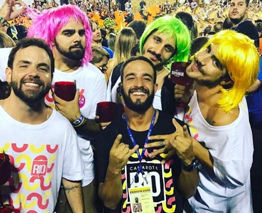 Camarote Rio - Caio Castro e amigos