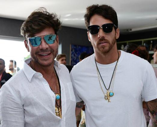Carlos Rodeiro e Marcel Souza