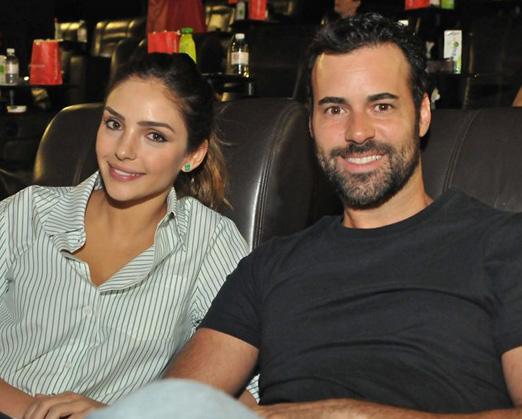 Carol Celico e Eduardo Scarpa