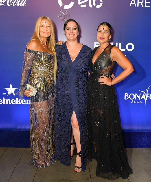 Donata Meirelles, Silvia Rogar e Daniela Falcão