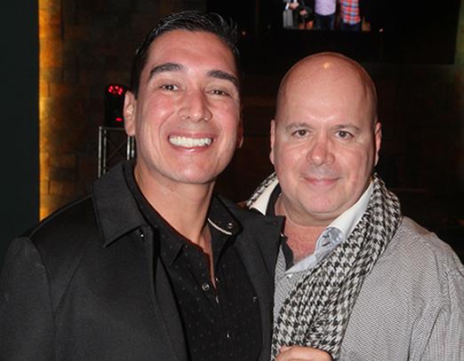 Hugo Oliveira e Eder Meneghine