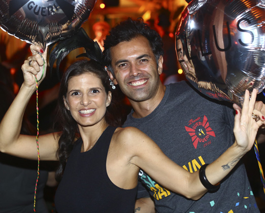 Fernanda Suplicy e o marido Sergio Morisson
