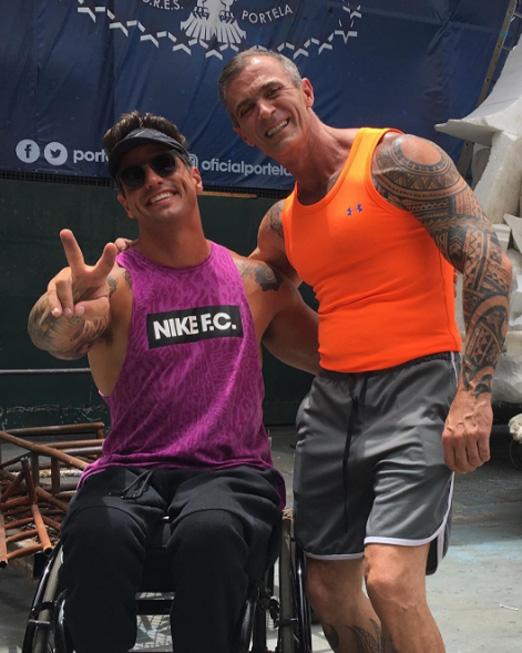 Fernando Fernandes e Paulo Barros