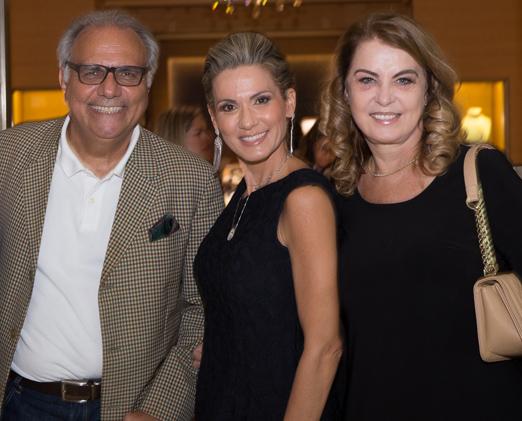 Franklin Toscano, Adriana Alves e Inez Costa