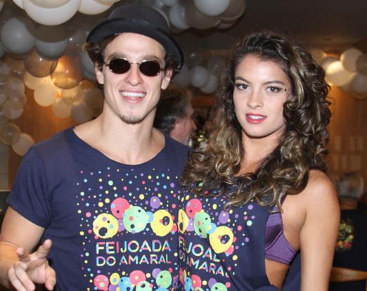 Gabriel Chadan e Ana Terra