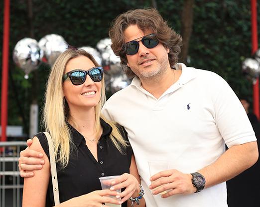 Gabriela Chies e Marcelo Meireles
