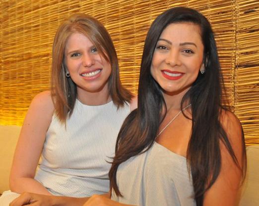 Gyselle Chateaubriand e Glenda Santos
