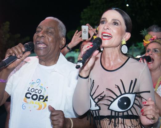 Haroldo Costa e Andrea Natal