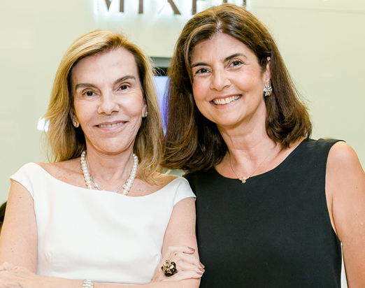 Henriqueta Gomes e Vivi Grabovsky