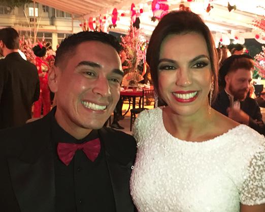 Hugo Oliveira e Ana Paula Araújo