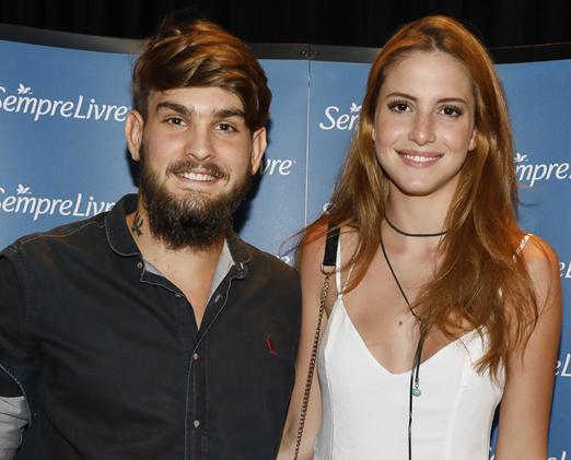 João Fernando e Danielle Fonseca