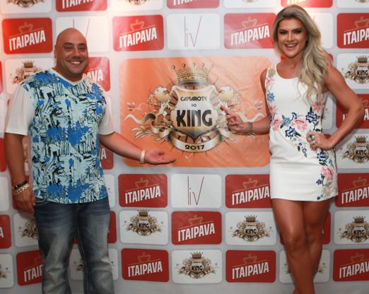 Joãozinho King e Mirella Santos
