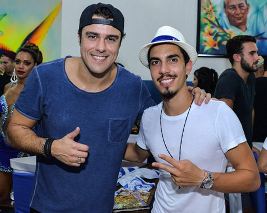Joaquim Lopes e Gabriel David