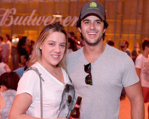 Juliana Barbeiro e João Marcos Calfat