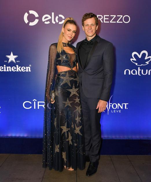 Kelly Gisch e Cesar Cielo