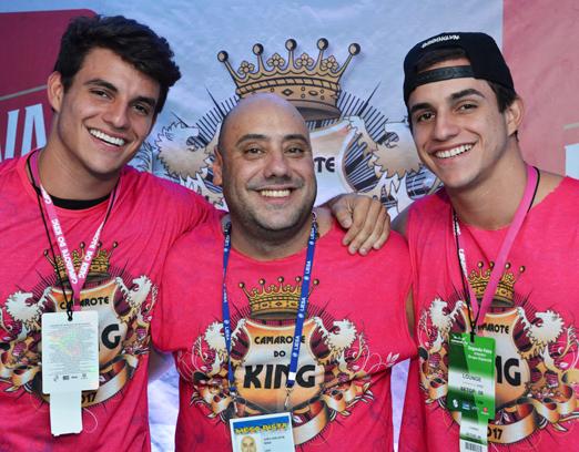 King - Joãozinho King com os gêmeos Manoel e Antônio