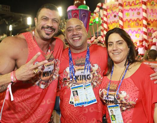 Kleber Bambam, Joãozinho King e Lilian Martins