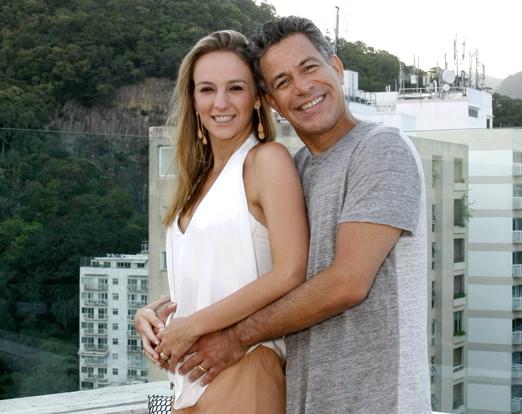 Larissa Gontijo e Luiz Calainho