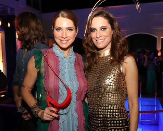 Letícia Spiller e Maria João