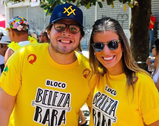 Lourenço Braga e Debora Tonetti