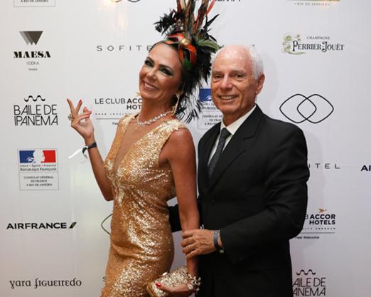 Márcia Veríssimo e Alexandre Ibitinga
