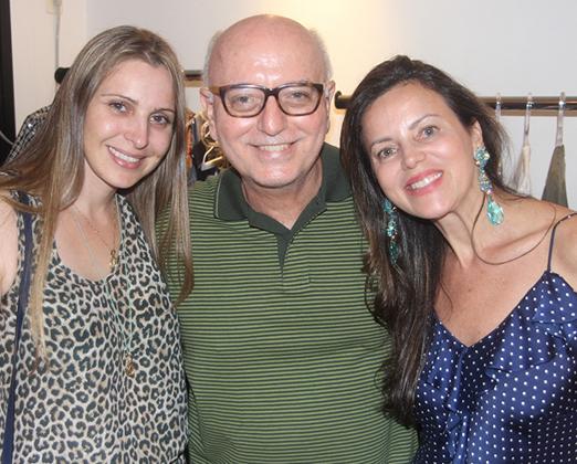 Maisa Vasconcelos, Alberto Sabino e Shirlei Maia