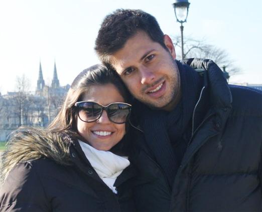 Maria Isabel Borges e Rafael Picciani