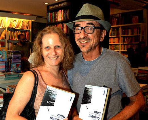 Nani Rubin e Joaquim Ferreira dos Santos