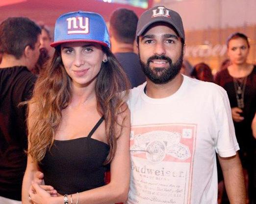 Natalia Fusco e Bruno Dias