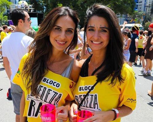 Natalia Fusco e Thais Carvalho